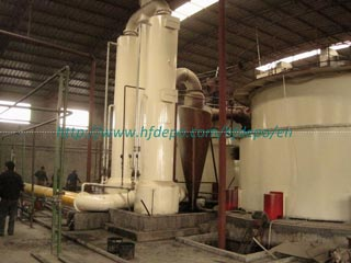 Biomass Gas Supply System for Burning Steam Boiler